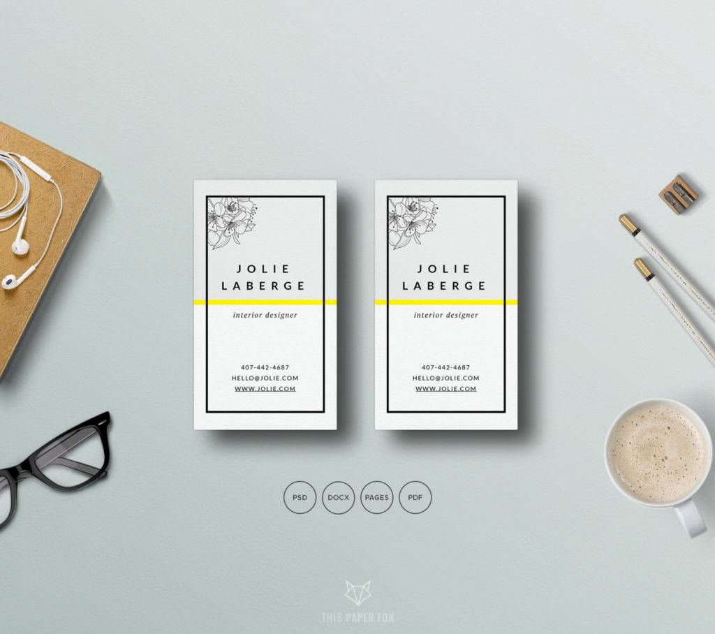 printable business card template in psd example 1024x908