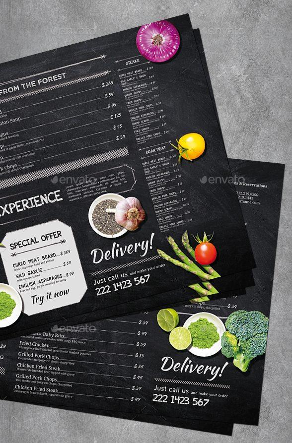 printable vintage chalkboard menu example e1526552216775