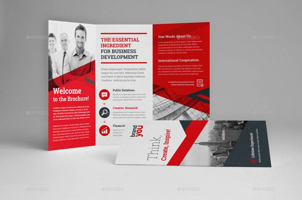 professional workshop brochure example