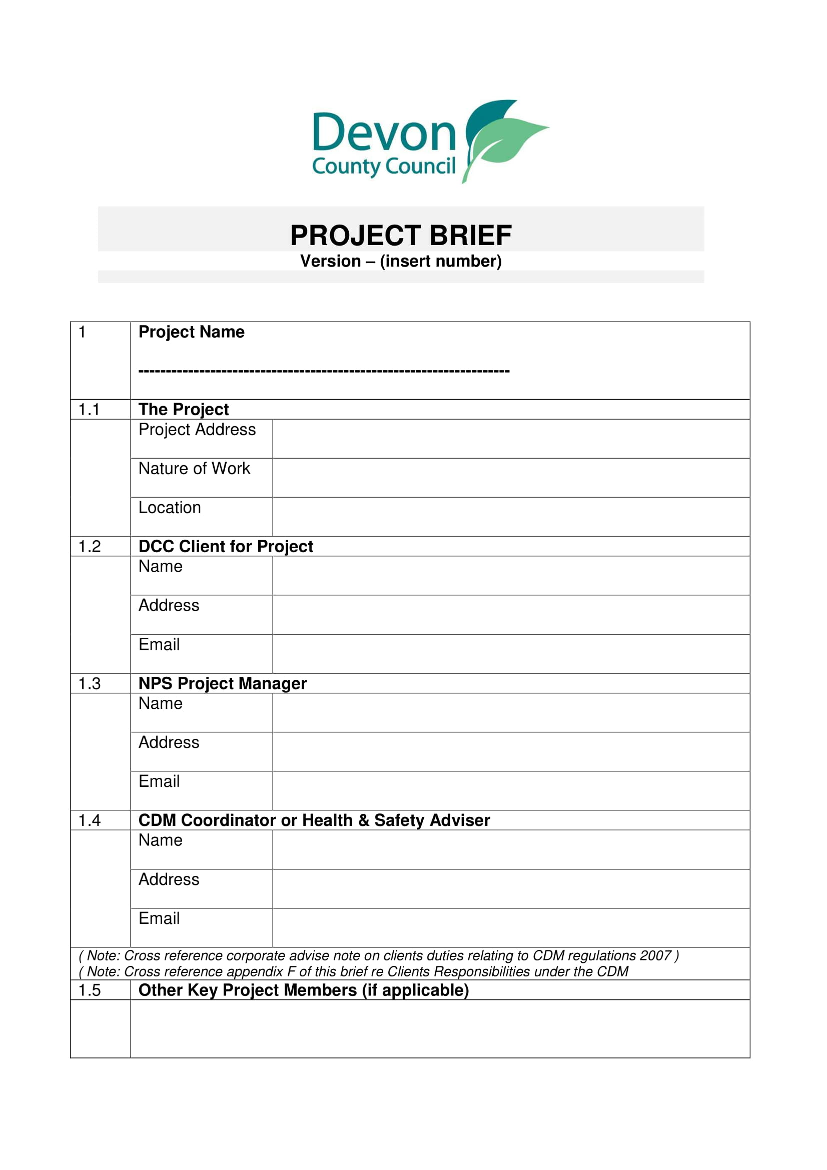 14 Project Brief Examples Pdf Examples