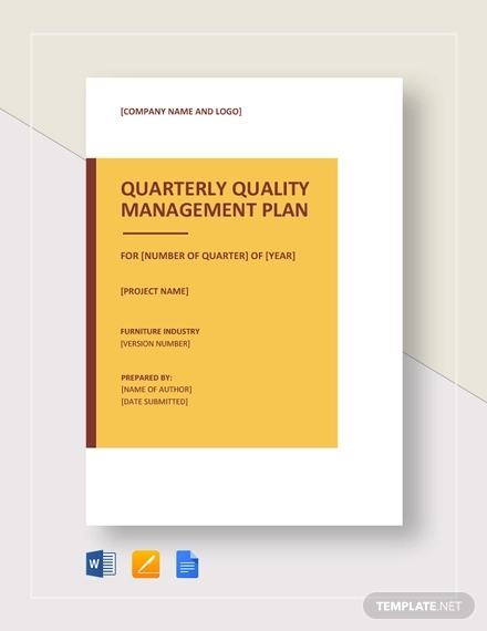 quality management plan example1