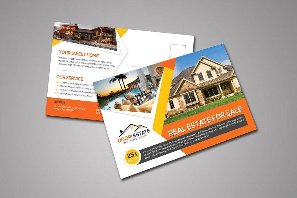 real estate postcard template in psd example 1024x681