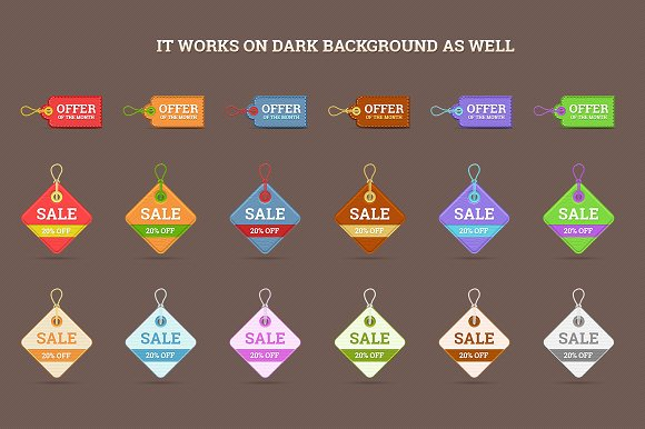 realistic price tag examples