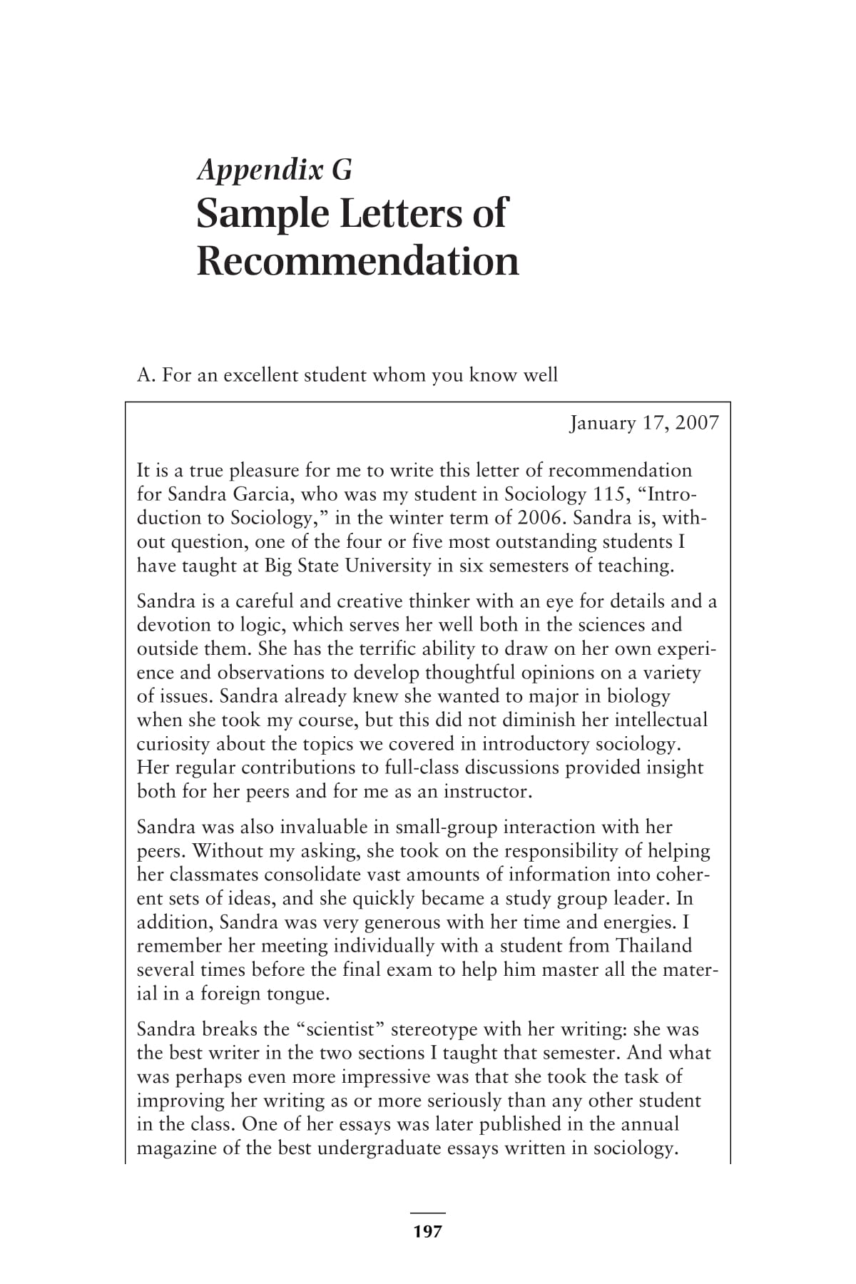 recommendation letter examples 1