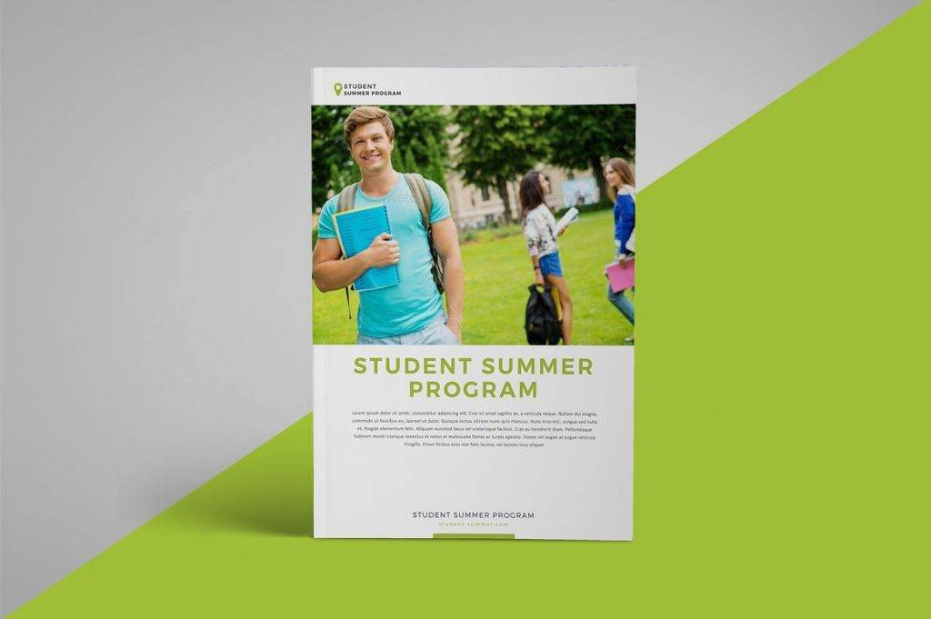 school program workshop brochure example