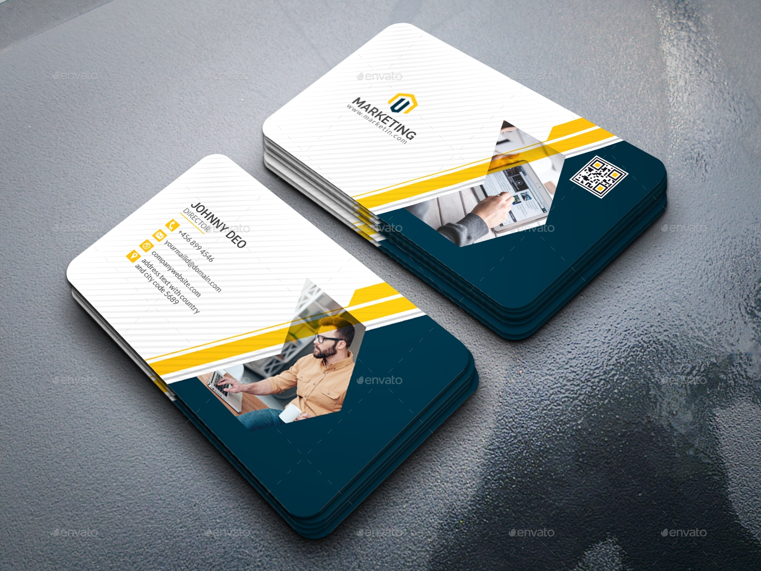 10+ Modern Business Card Designs and Examples - PSD, AI