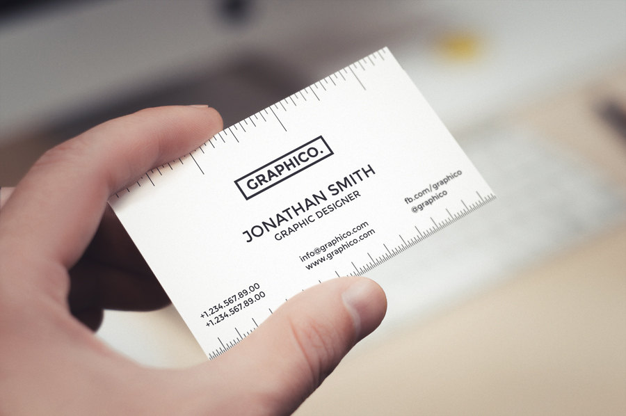 simple creative business card example