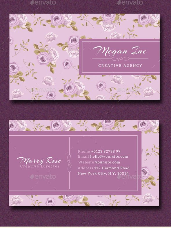 simple floral business card example e1527671741645