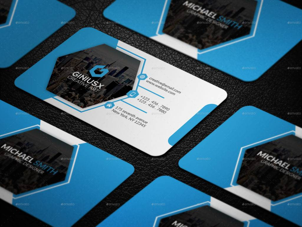 simple and elegant corporate business card