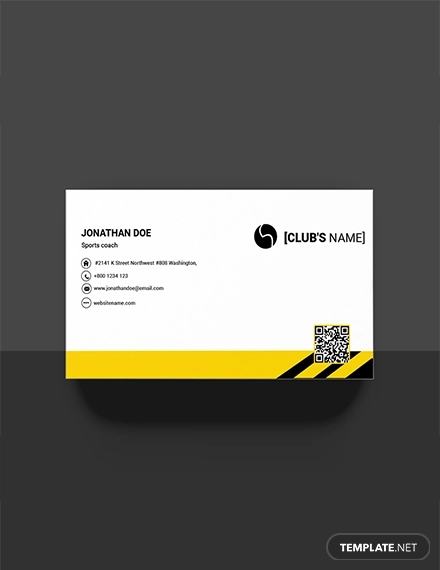 sports business card