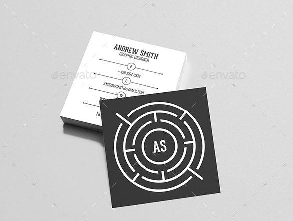 square personal business card example e1527038920263