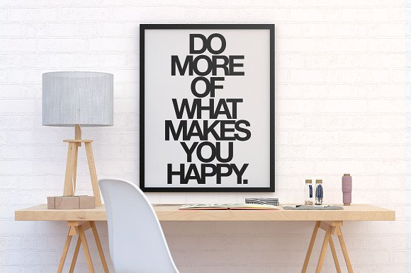 table motivational poster example