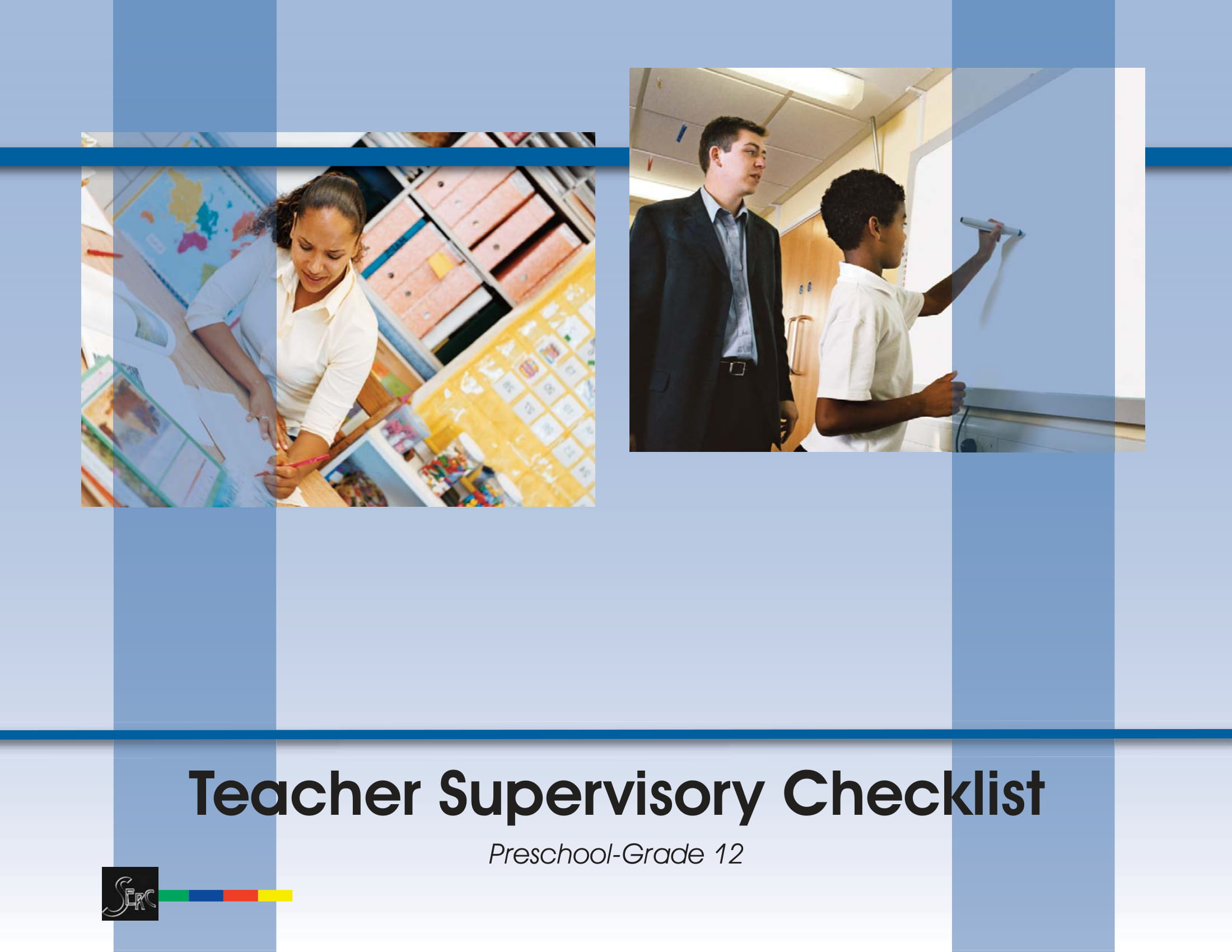 teacher supervisory checklist