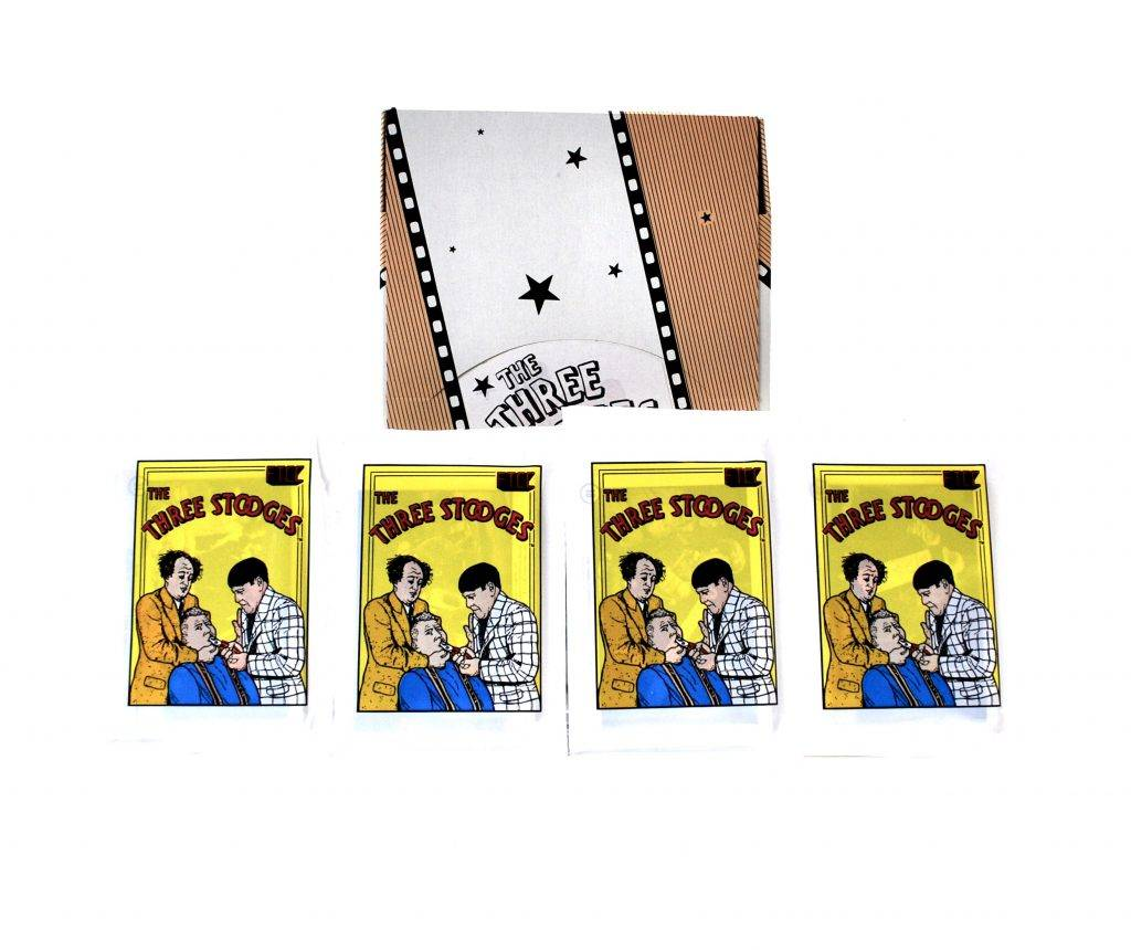 three stooges trading card packs example