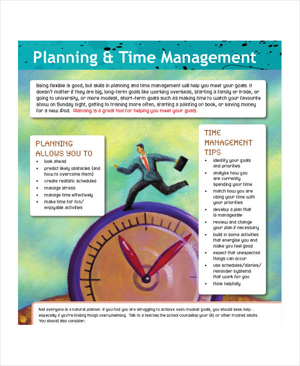 time management planning