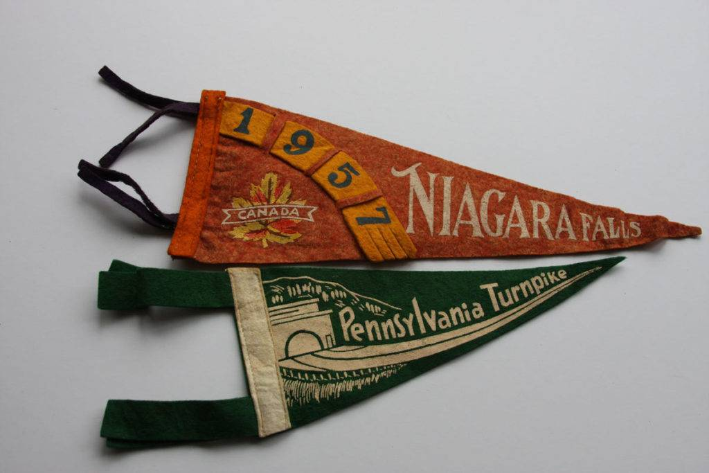 turnpike souvenir flag example