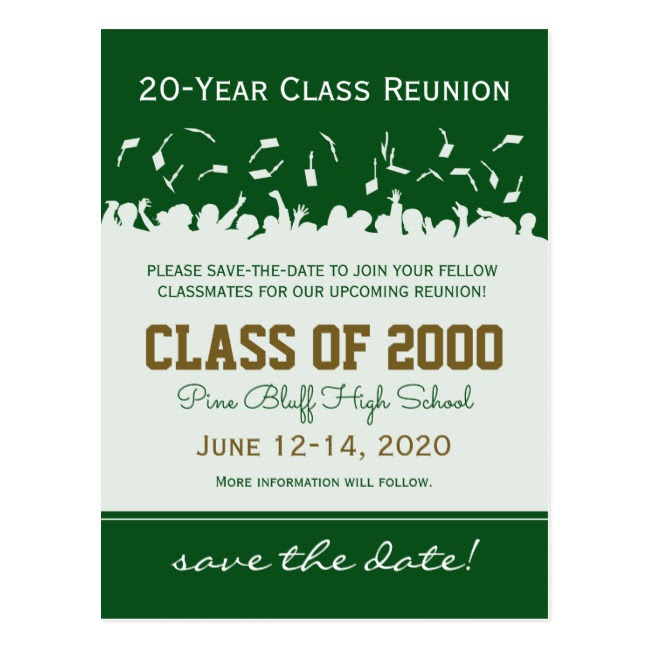 university reunion invitation example