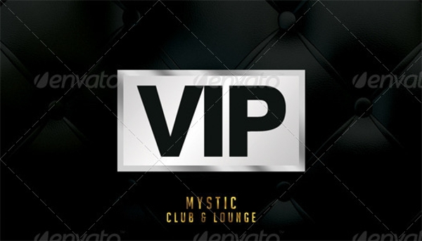 vip club membership card