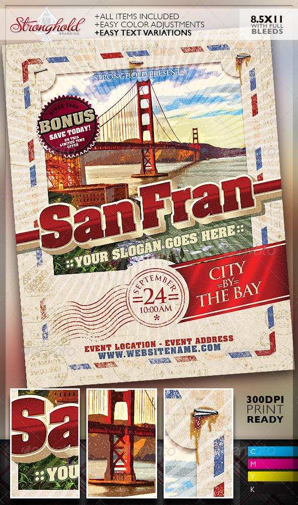 vintage travel postcard example