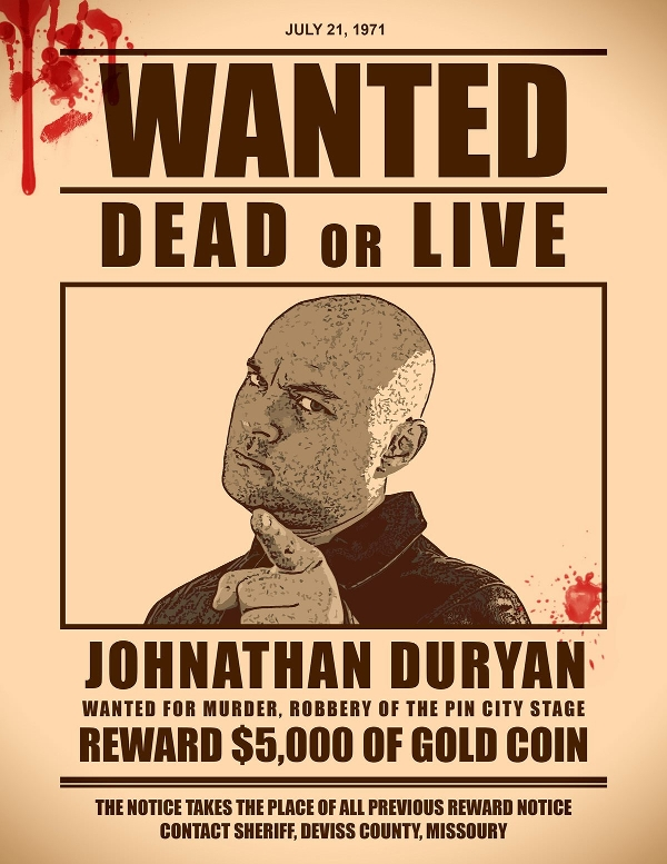 wanted poster photoshop action