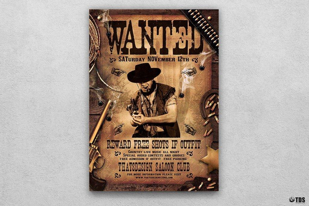 14 Wanted Poster Designs And Examples Psd Ai