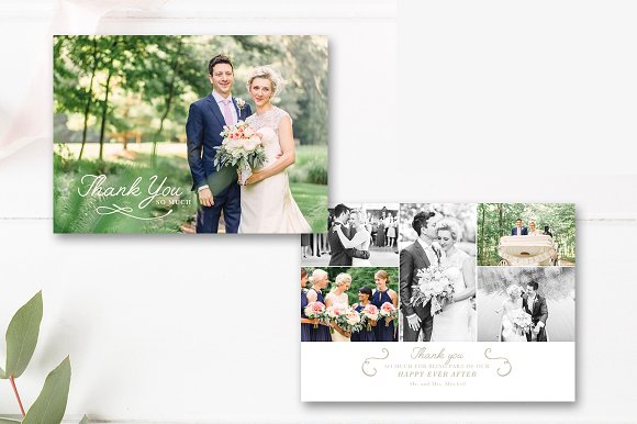 wedding planner thank you card example