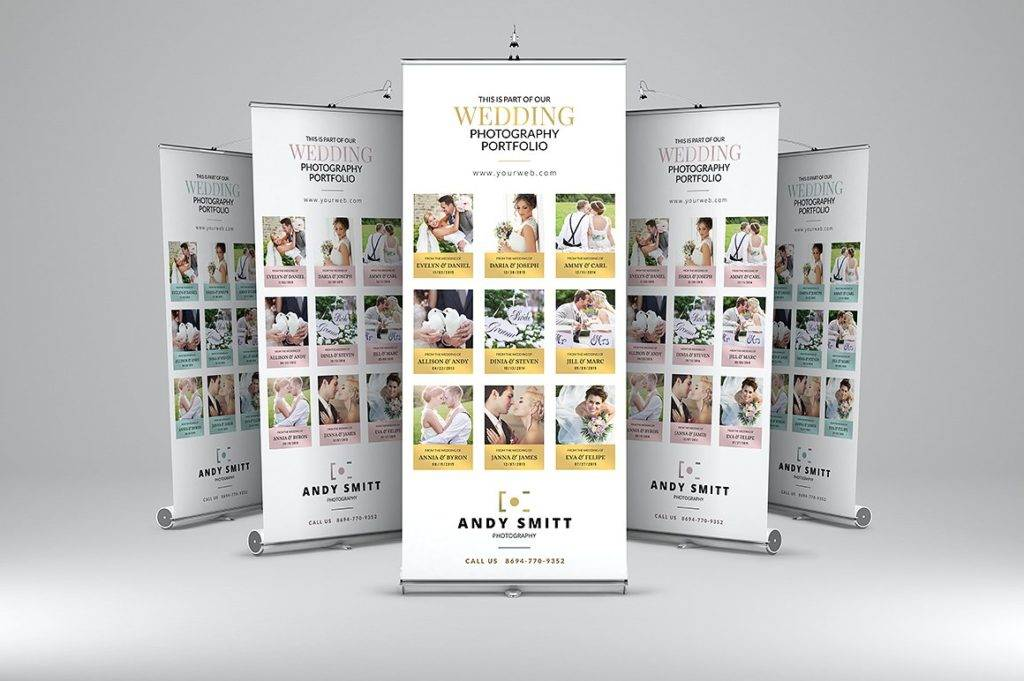 wedding roll up banner example 1024x681