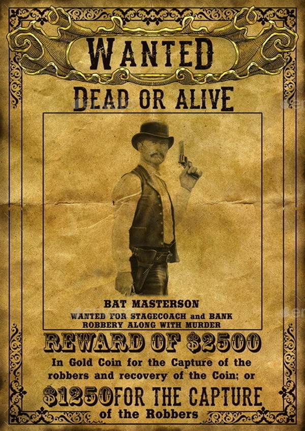 wanted poster examples