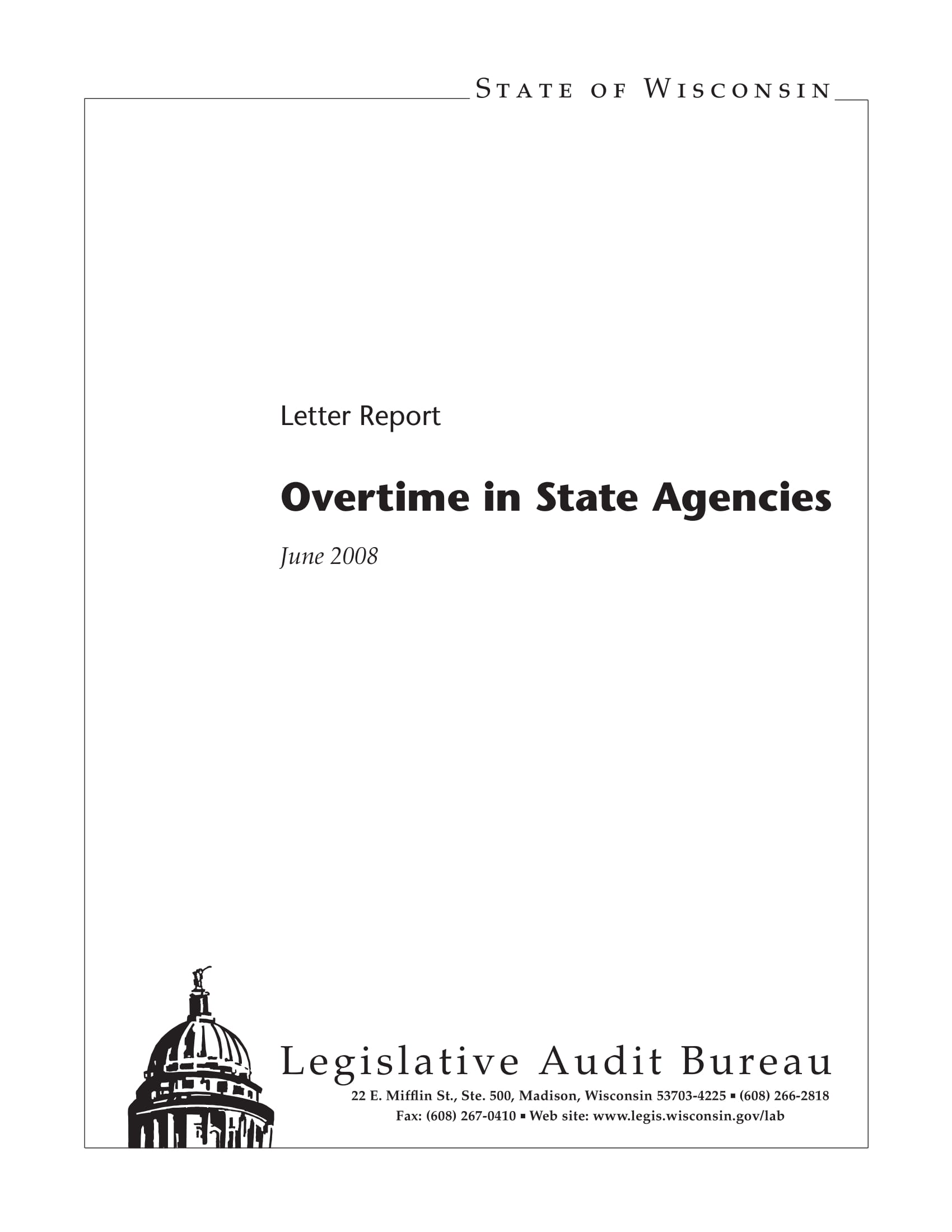 work overtime report on state agencies example