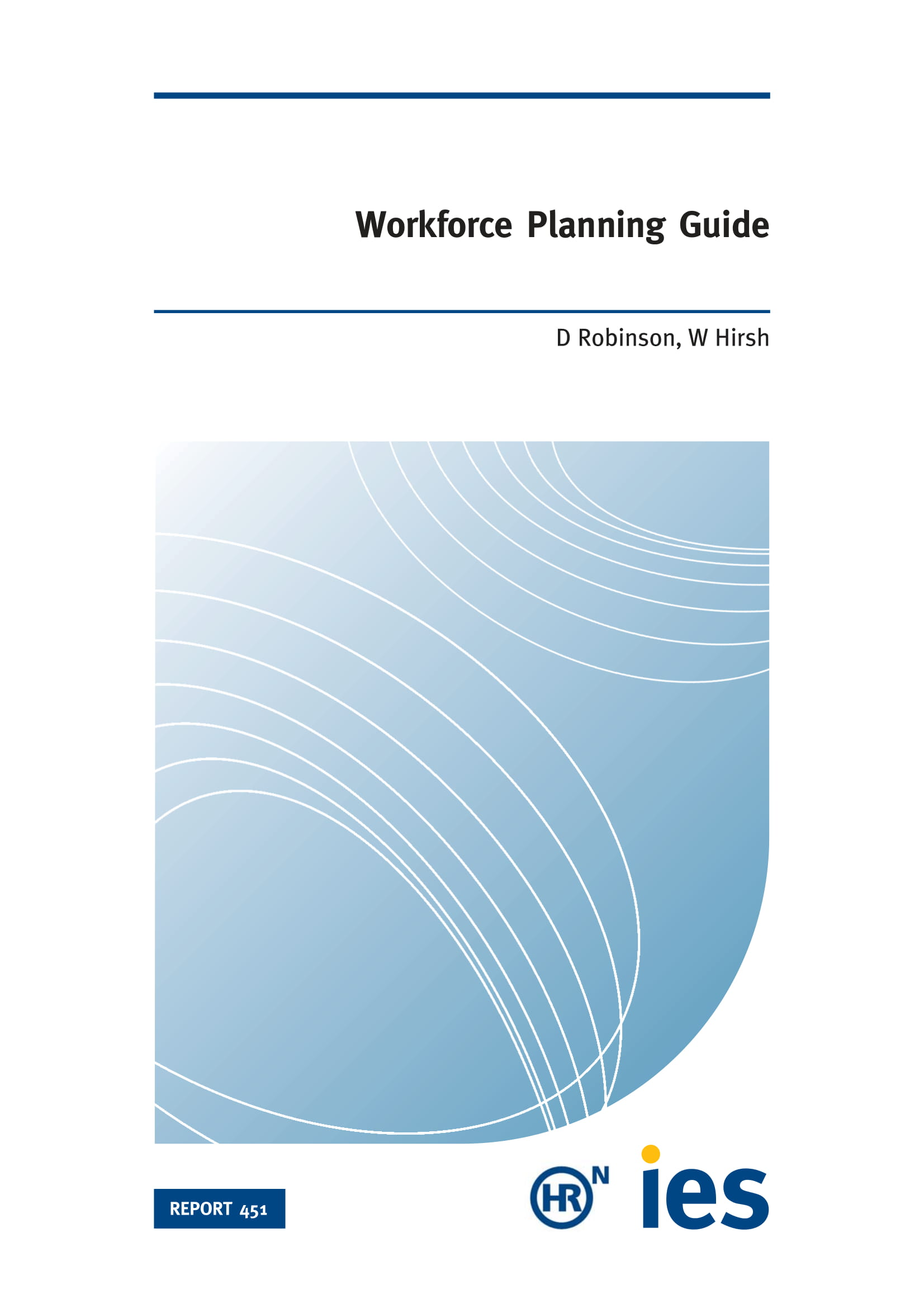 workforce planning guide with model and template example