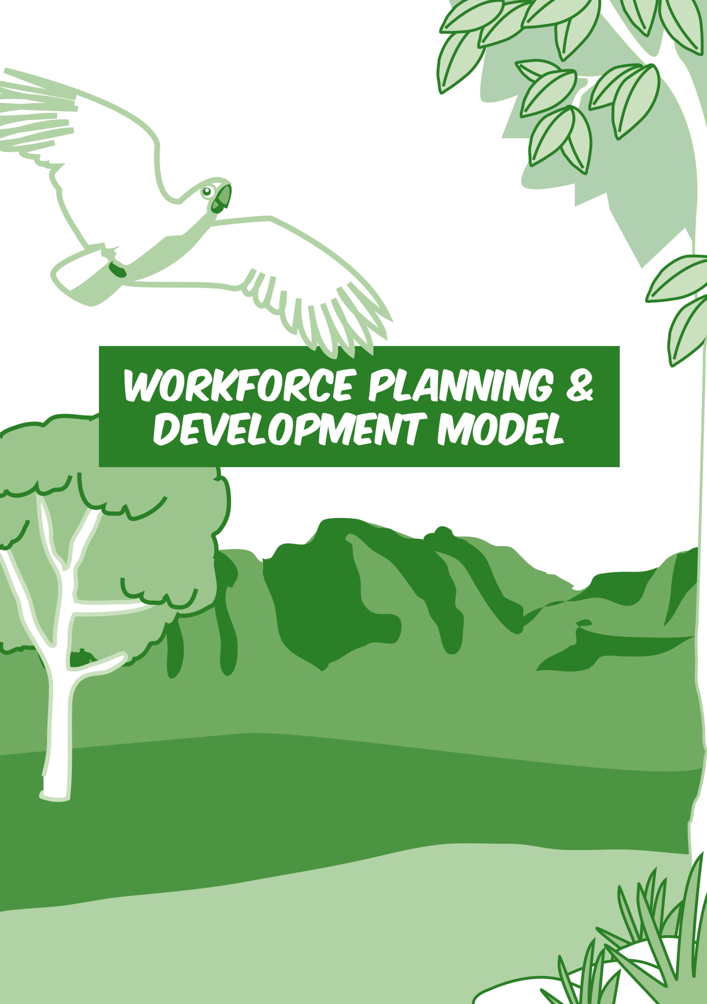 workforce planning and development model with template example