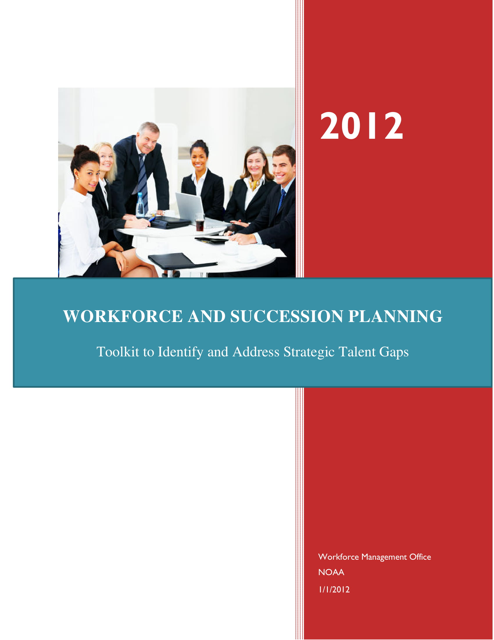 workforce and succession planning template example
