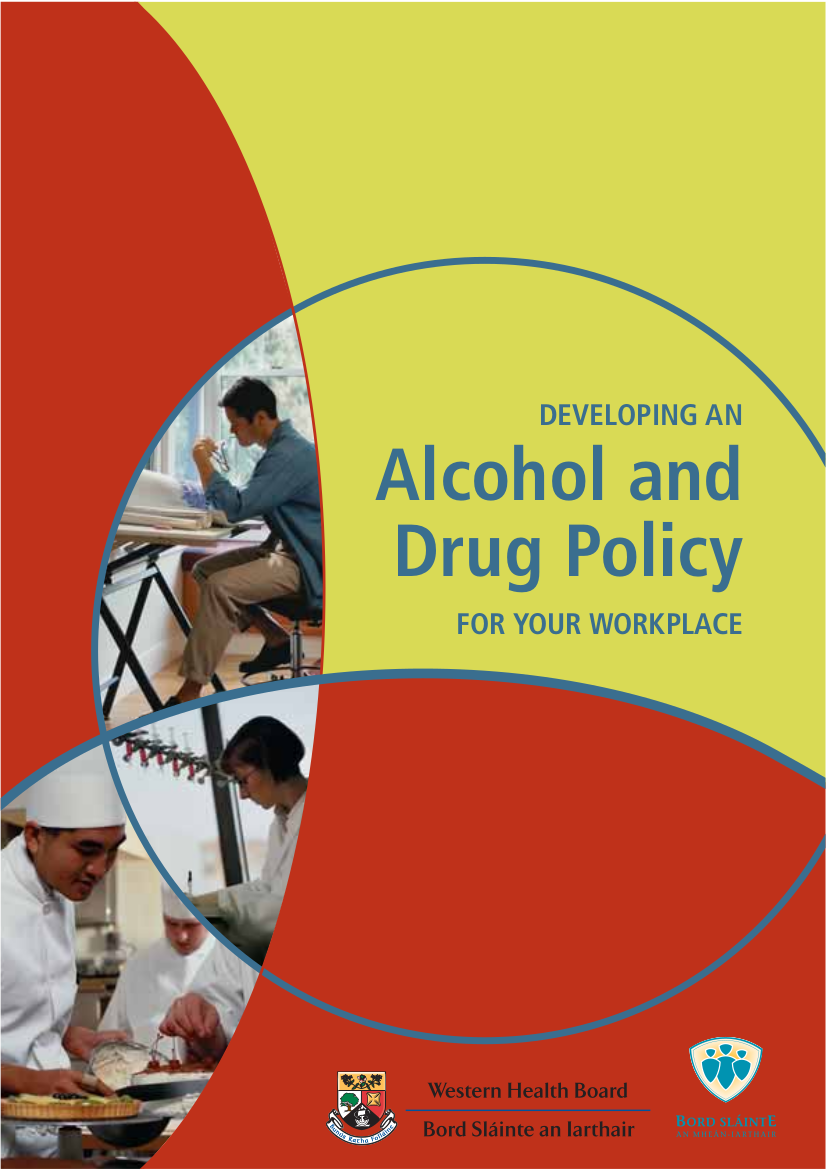 workplace alcohol and drug policy example