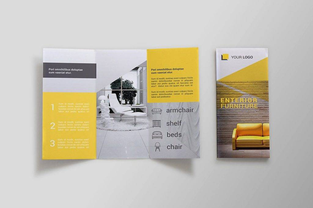16 Furniture Brochure Designs And Examples Psd Ai