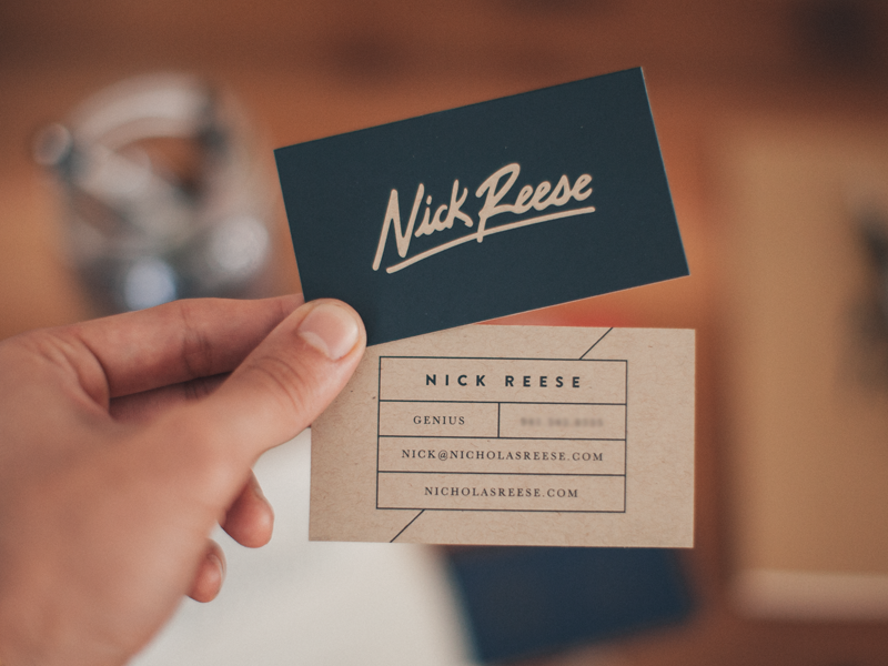 Importance of business cards and examples business cards colourmoves