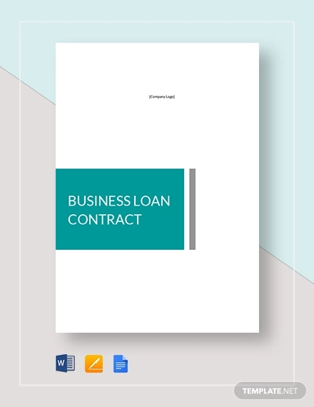 business loan contract