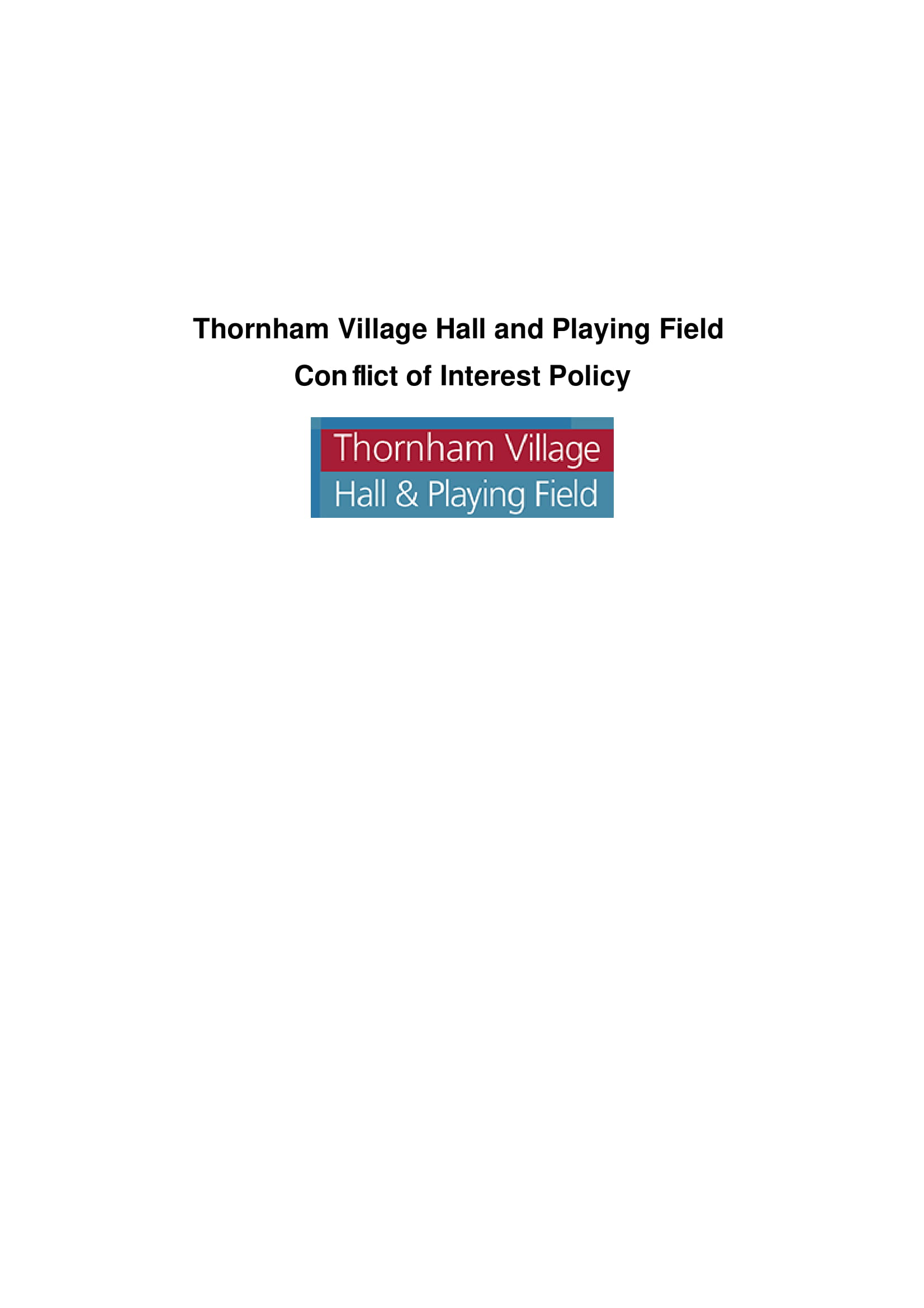 14 Conflict Of Interest Policy Examples Pdf