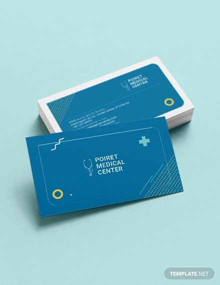 creative medical business card