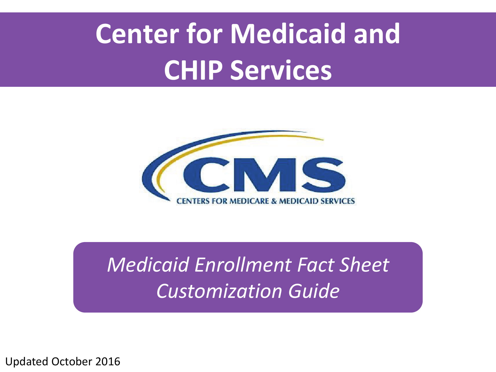 fact sheet enrollment customization guide 01