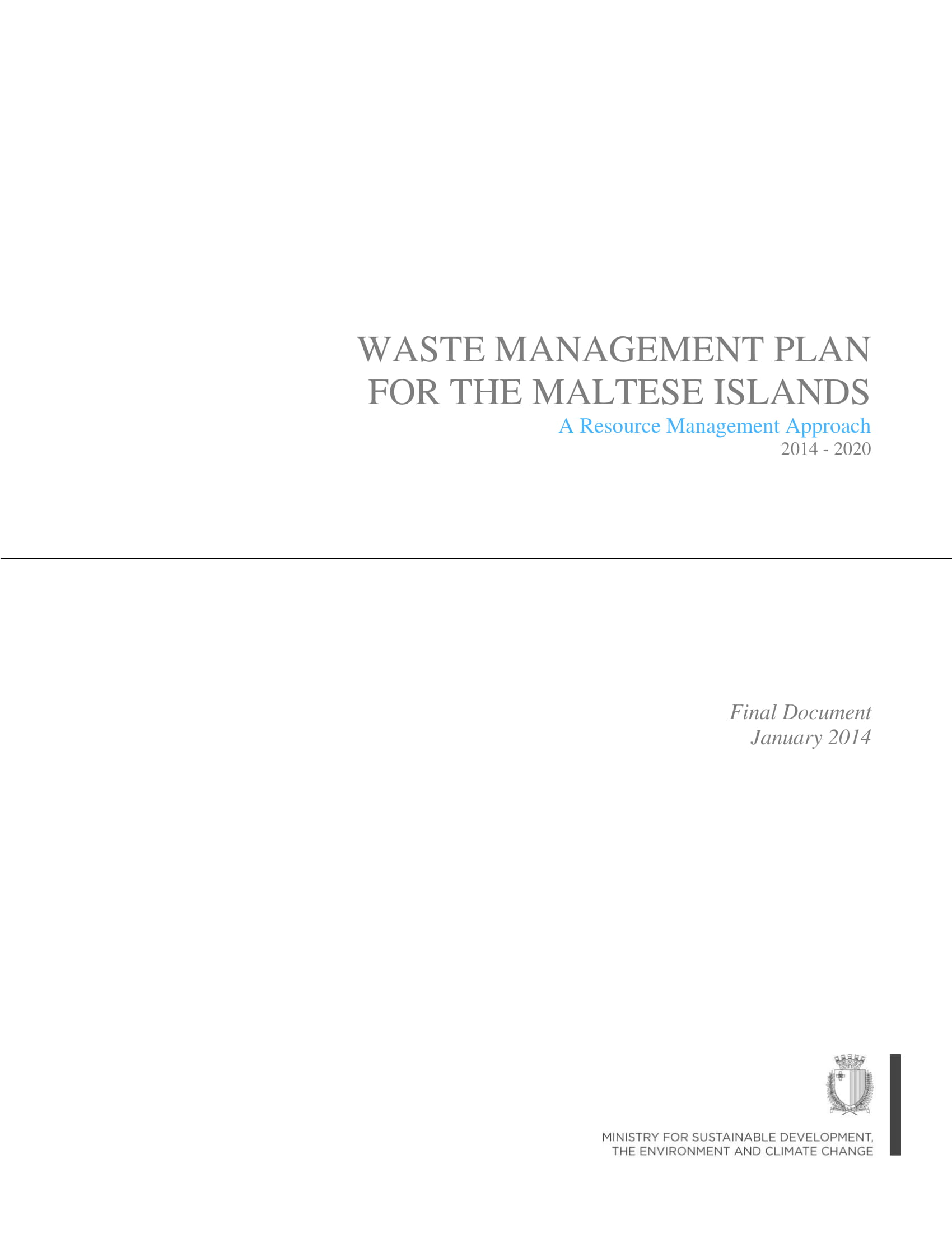 waste management plan 2014 2020 final document 001