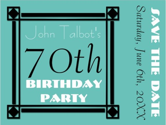 70th birthday save the date design example e1528867101364