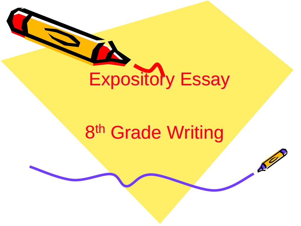 8th grade expository essay