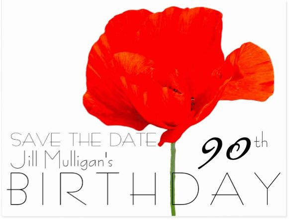 90th birthday save the date design example e1528867323305