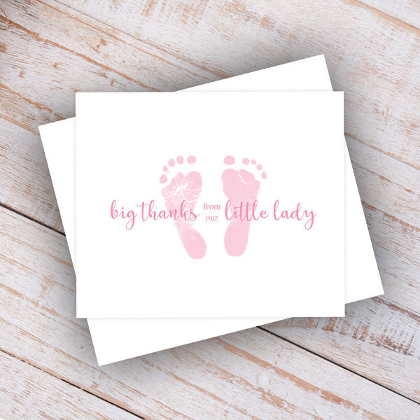adorable thank you note card example1