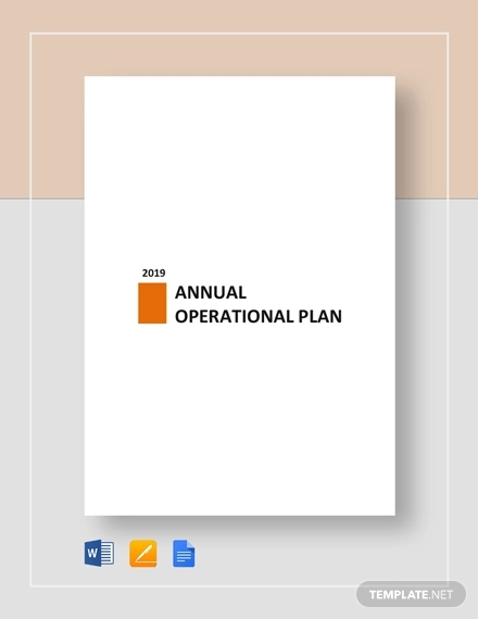 annual operational plan 1