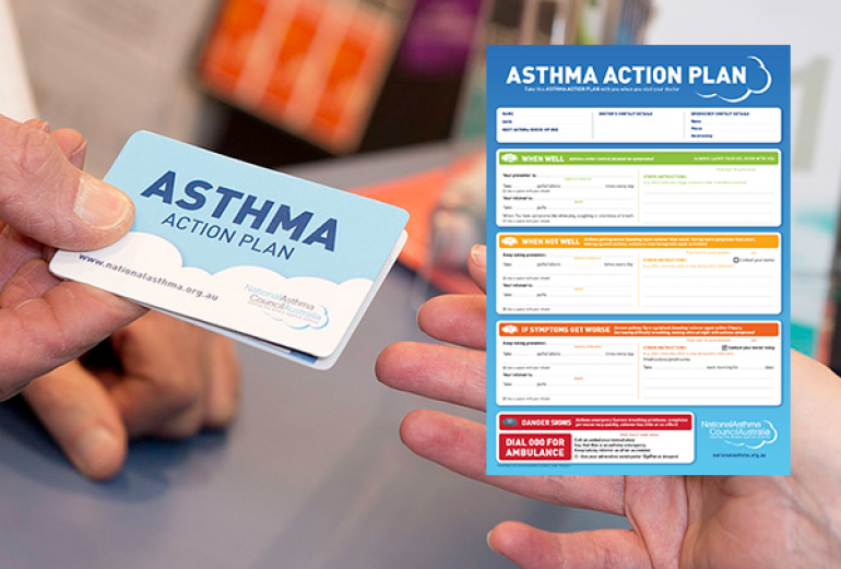 asthma action plan example