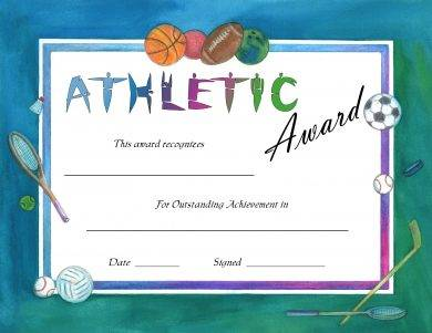 23 sports award certificate examples pdf word