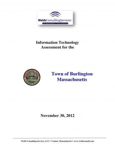 basic information technology assessment example