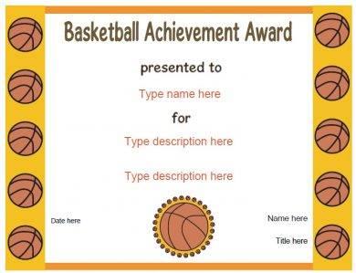 basketball achievement award1