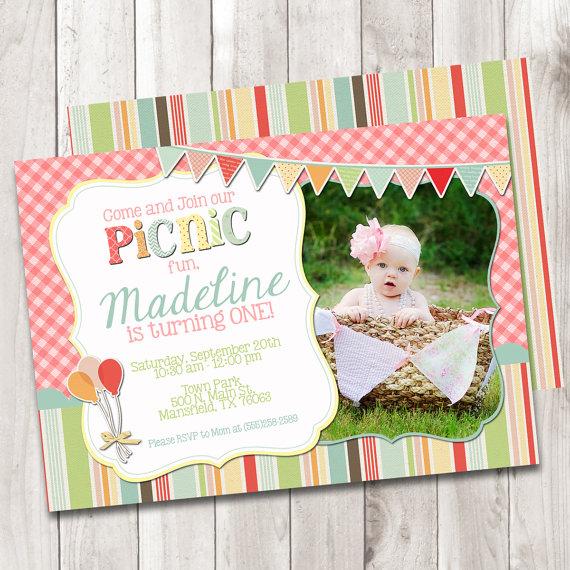 birthday picnic invitation example